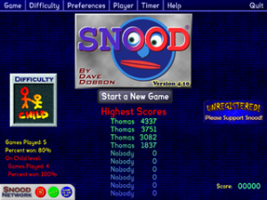 Snood game free download