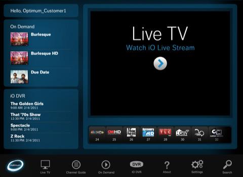 Livetv app for iphone