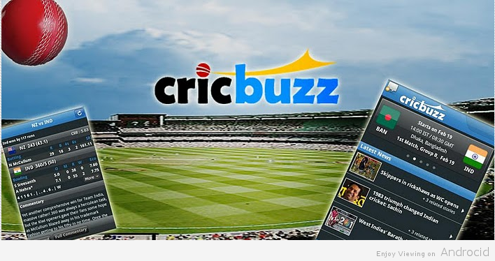 cricbuzz cricket scores & news app