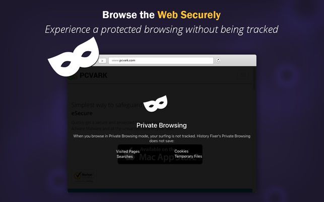 History fixer app for Private Browsing Window