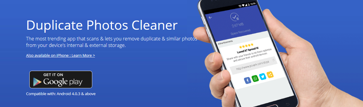 Duplicate Photos Cleaner for Android