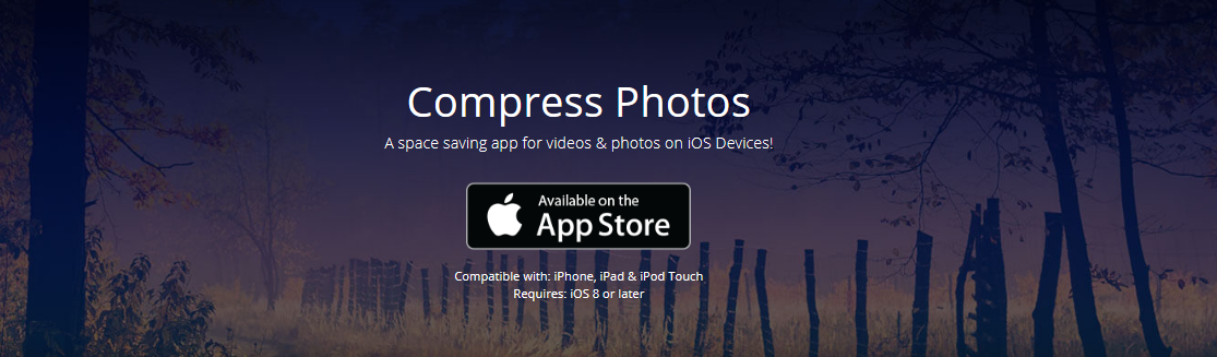 How do you compress photos on iPhone
