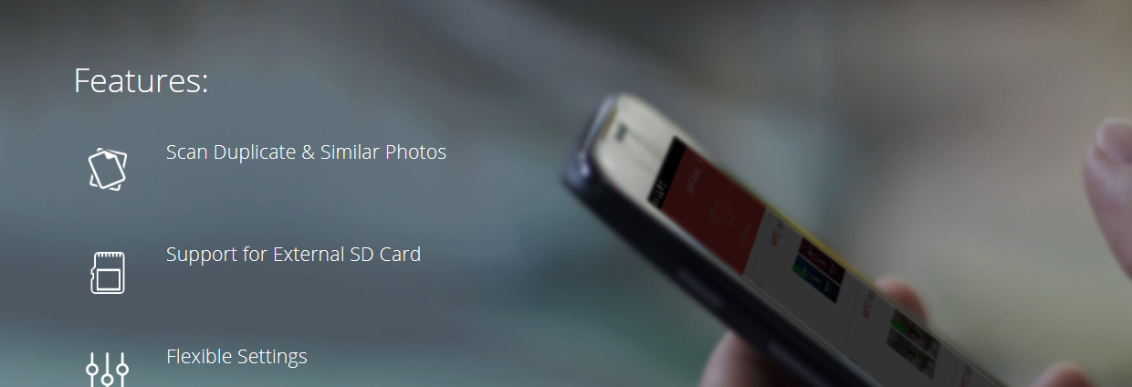 How to remove duplicate photos in android