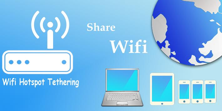 Wifi Hotspot Tethering - Free Mobile Portable Wi-Fi