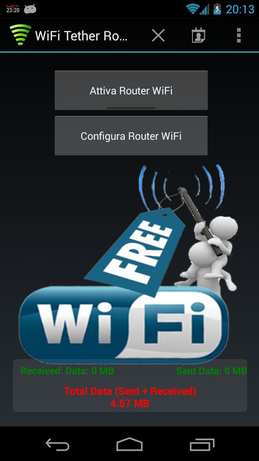 Free android wifi hotspot app