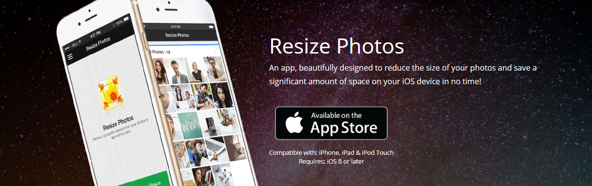 Resize Photos For iPhone | Reduce photo size iphone